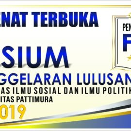 Yudisium dan Penggelaran 173 Calon Lulusan Mahasiswa FAKULTAS ILMU SOSIAL DAN ILMU POLITIK I Priode April 2019