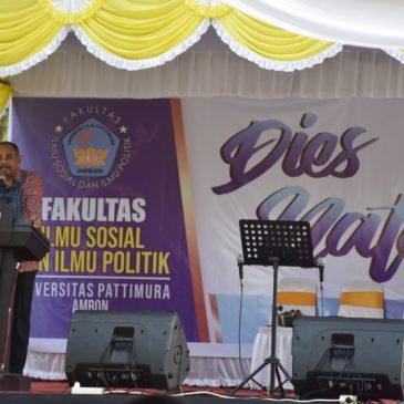 PENCANANGAN DALAM BULAN DIES NATALIS FAKULTAS ILMU SOSIAL DAN ILMU POLITIK YANG KE 60